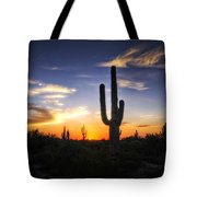 A Sonoran Sunset  Tote Bag