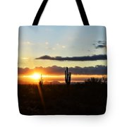 A Southwest Morning  Tote Bag