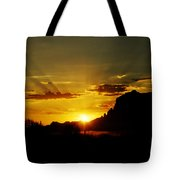 A Southwest Sunrise  Tote Bag