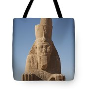 A Sphinx Sits In The Sun Slowly Eroding Tote Bag