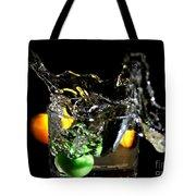 A Splash In The Glass Tote Bag