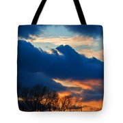 A Spring Sunset Tote Bag