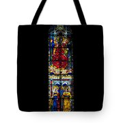 A Stained Glass Window Lit By The Day Tote Bag