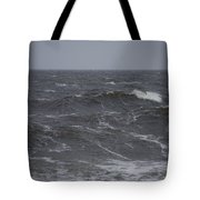 A Storm Lashed Hudsons Bay In Autumn Tote Bag