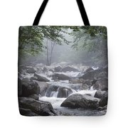 A Stream Courses Through An Tote Bag