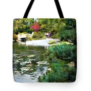 A Stroll In Peace And Tranquility Tote Bag