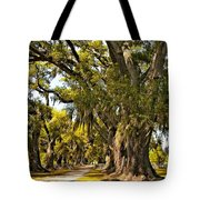 A Stroll Through Time Tote Bag