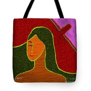 A Stylised Portrait Tote Bag