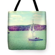 A Summer Sailing Adventure Tote Bag