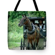 A Sunday Journey Tote Bag