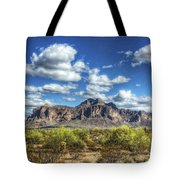 A Superstition Morning  Tote Bag