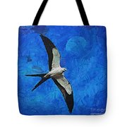 A Swallow And The Moon Tote Bag
