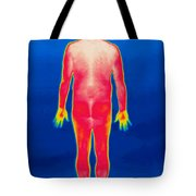 A Thermogram Of A Nude Man Back Tote Bag