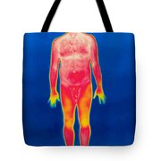 A Thermogram Of A Nude Man Tote Bag