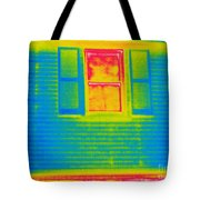 A Thermogram Of A Window Tote Bag