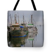 A Touch Of Blue And Green Tote Bag