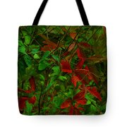 A Touch Of Christmas In Nature Tote Bag