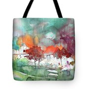 A Town On Planet Goodaboom Tote Bag