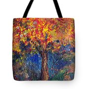 A Tree Grows Here Tote Bag