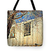 A Tree In My Eyes Tote Bag