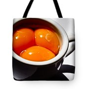 A Triple Eggspresso Tote Bag