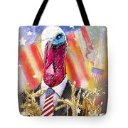 A Turkey For President Tote Bag