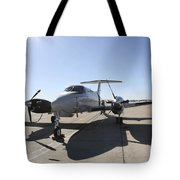 A  Uc-12f King Air Aircraft Tote Bag