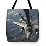A U.s. Air Force F-16c Block 50 Tote Bag by Giovanni Colla