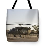 A U.s. Army Medevac Uh-60 Black Hawk Tote Bag