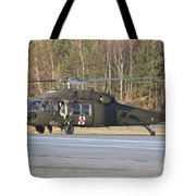 A U.s. Army Uh-60l Blackhawk Tote Bag