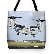 A U.s. Marine Corps Mv-22 Osprey Lifts Tote Bag