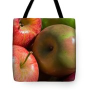 A Variety Of Apples Tote Bag