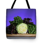 A Variety Of Lettuce Tote Bag by Photo Researchers, Inc.