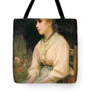 A Venetian Flower Girl Tote Bag