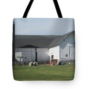 A Very Quiet Barn Tote Bag