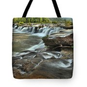 A View Across The New River Tote Bag