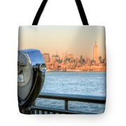 A View From New Jersey I Tote Bag