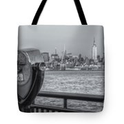 A View From New Jersey II Tote Bag
