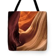 A View In A Slot Canyon Tote Bag