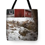 A View In Winter Tote Bag