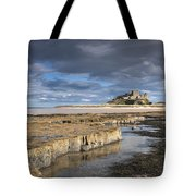 A View Of Bamburgh Castle Bamburgh Tote Bag