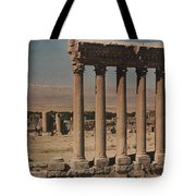 A View Of More Ruins From The Columns Tote Bag