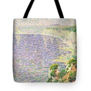 A View Of The Cliffs Of Etretat Tote Bag by Claude Emile Schuffenecker