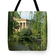 A View Of The Parthenon 1 Tote Bag by Douglas Barnett