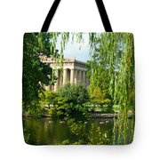 A View Of The Parthenon 12 Tote Bag