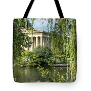 A View Of The Parthenon 5 Tote Bag