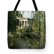 A View Of The Parthenon 6 Tote Bag by Douglas Barnett