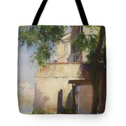 A View Of Venice From A Terrace Tote Bag