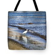 A Visit To The Beach Tote Bag