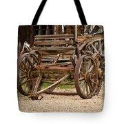 A Wagon And Wheels Tote Bag